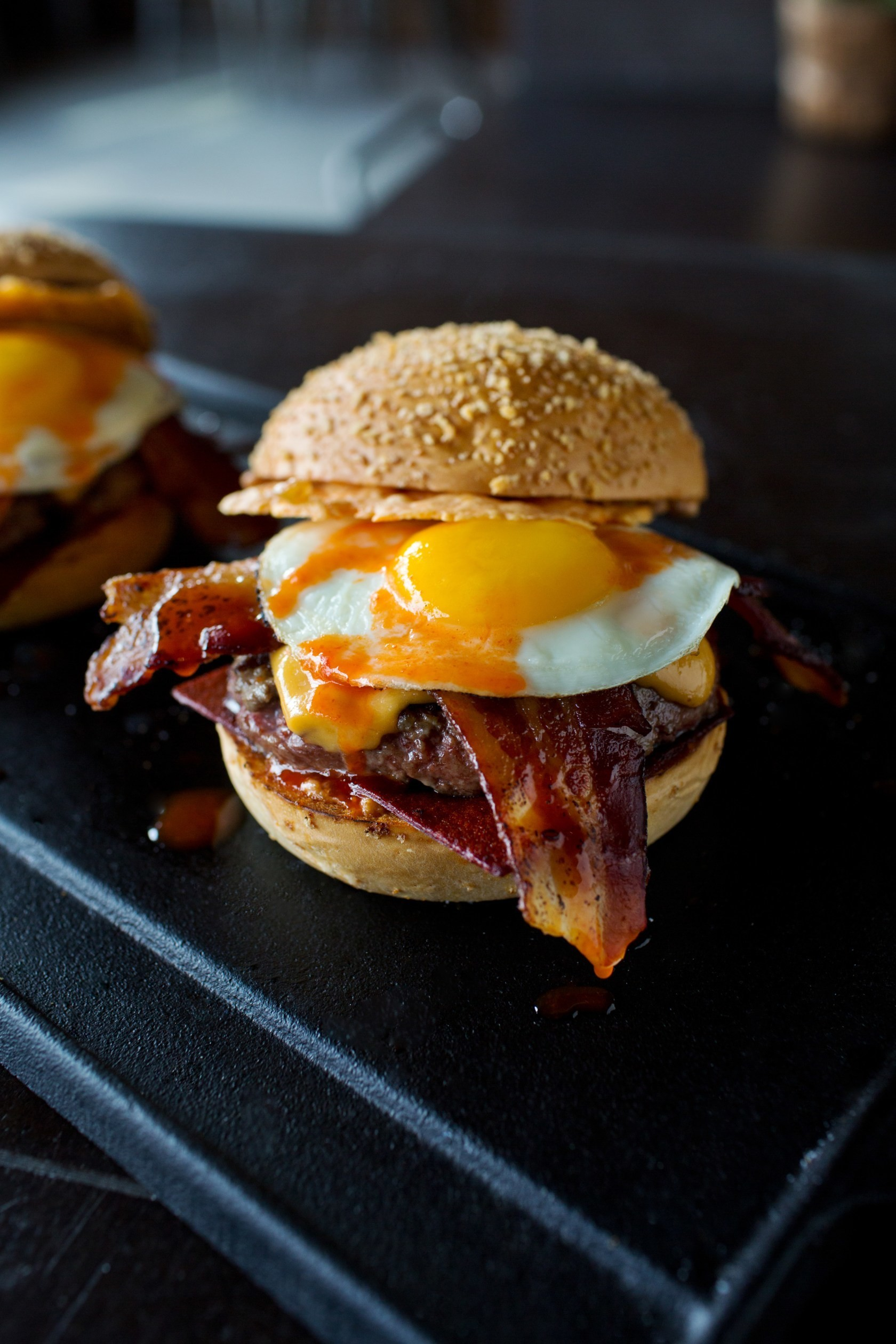 CHEFS FAVORITE BURGER – PLAN CHECK KITCHEN + BAR – DOWNTOWN (Los Angeles) - 23 Dishes That Are So Hot Right Now - Livingly