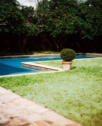 L Shaped Pool Photos, Design, Ideas, Remodel, and Decor ...