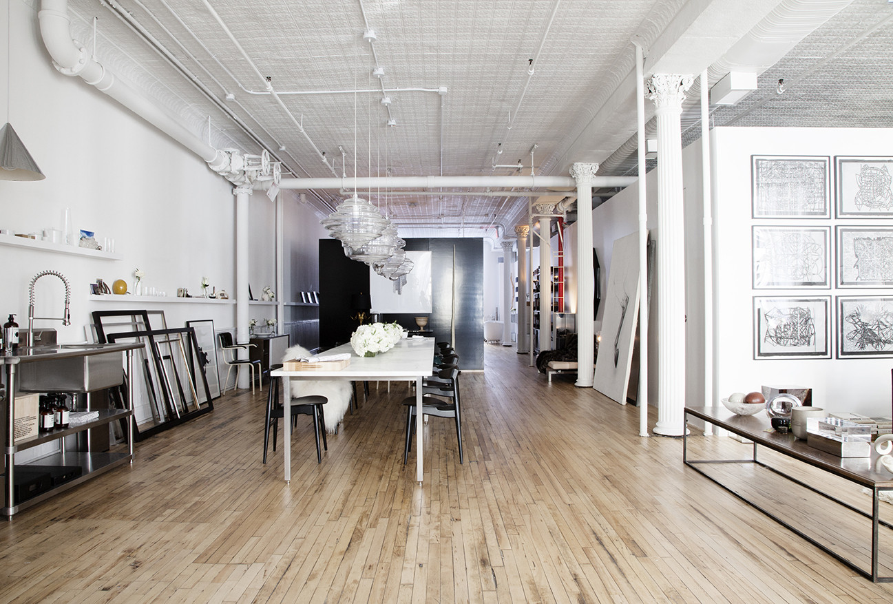Industrial Loft Photos Design Ideas Remodel and Decor