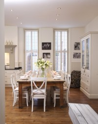 White Country Dining Room - Dining Room Decorating Ideas ...