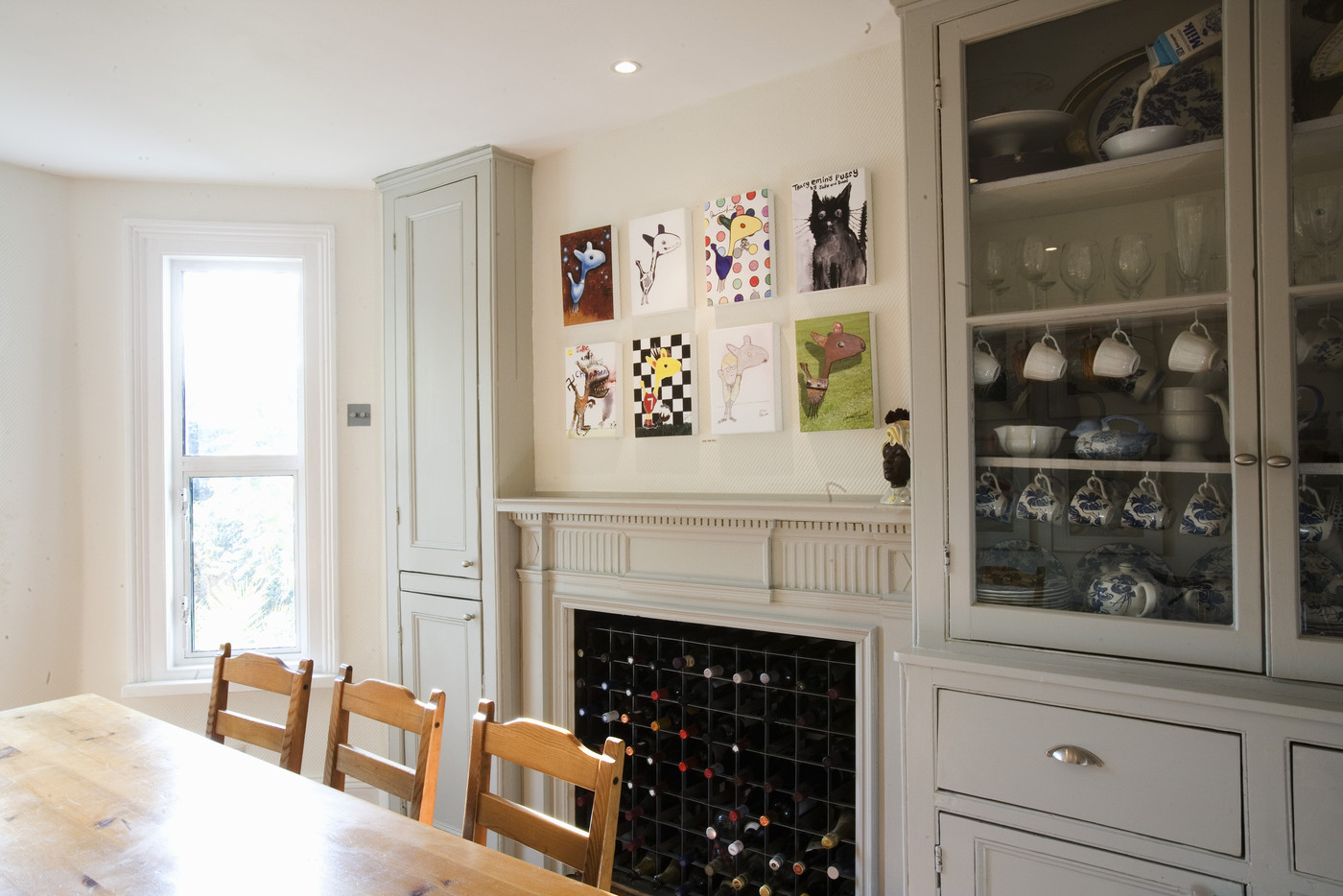 Wine Rack Fireplace Photos Design Ideas Remodel And