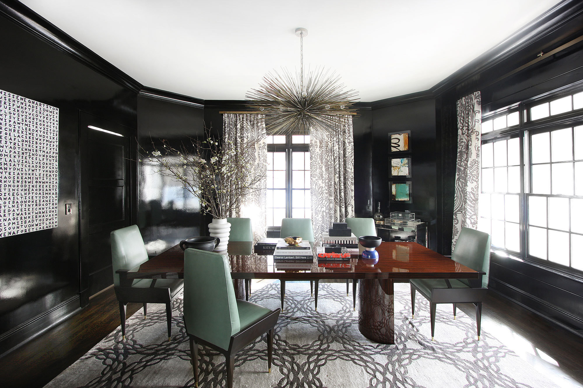 Glamour In The Suburbs  Home Tour Lonny