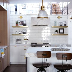 Kitchen Walls Aid Pasta Maker Say Goodbye To Your Backsplash Tiled Are Trending The Sunken Of A Tribeca Home By Jenny Vorhoff