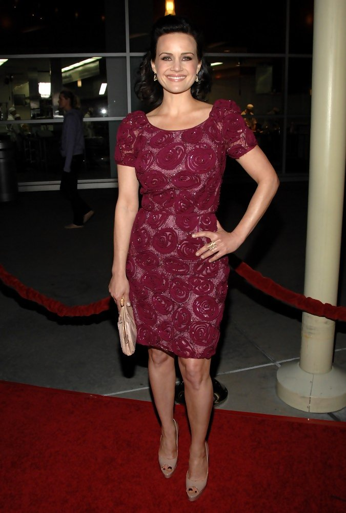 Carla Gugino Cocktail Dress  Carla Gugino Clothes Looks