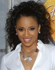 ciara ponytail - long hairstyles