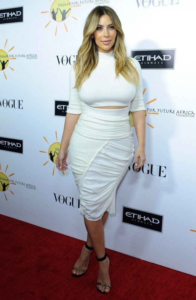 Kim Kardashian Pencil Skirt  Kim Kardashian Looks