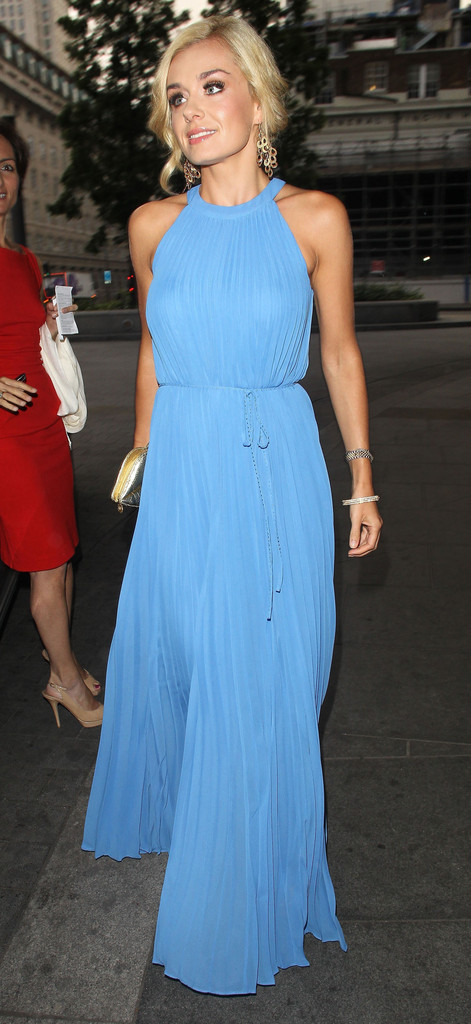 Katherine Jenkins Evening Dress  Katherine Jenkins Looks  StyleBistro