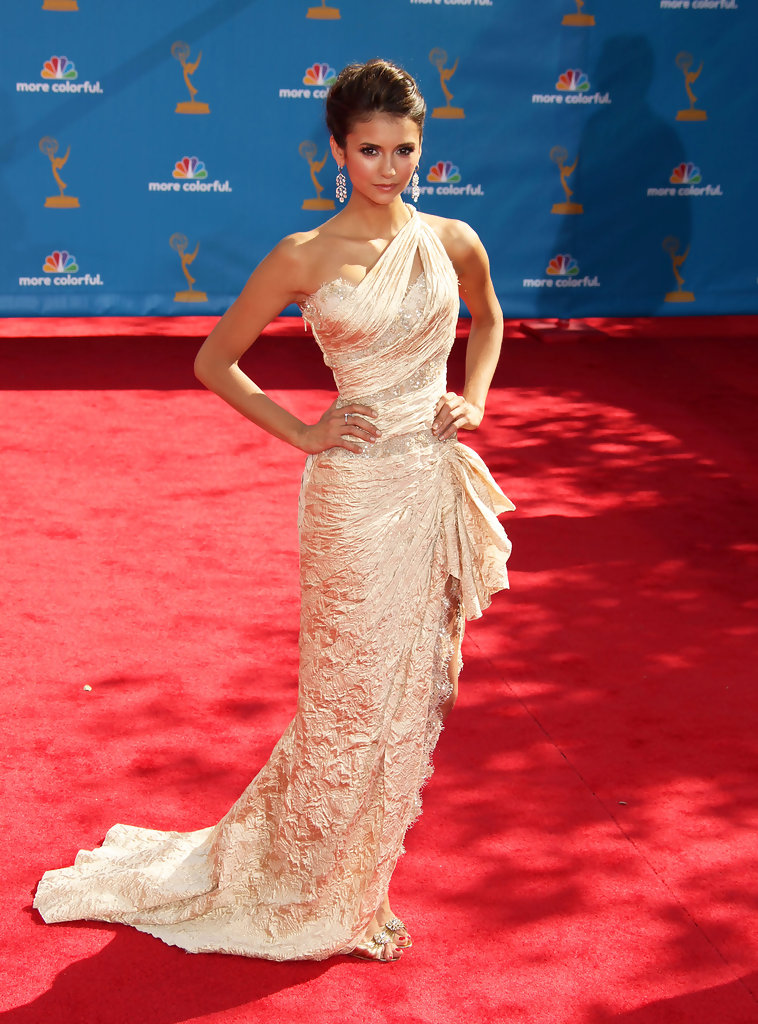 Nina Dobrev Evening Dress  Nina Dobrev Clothes Looks