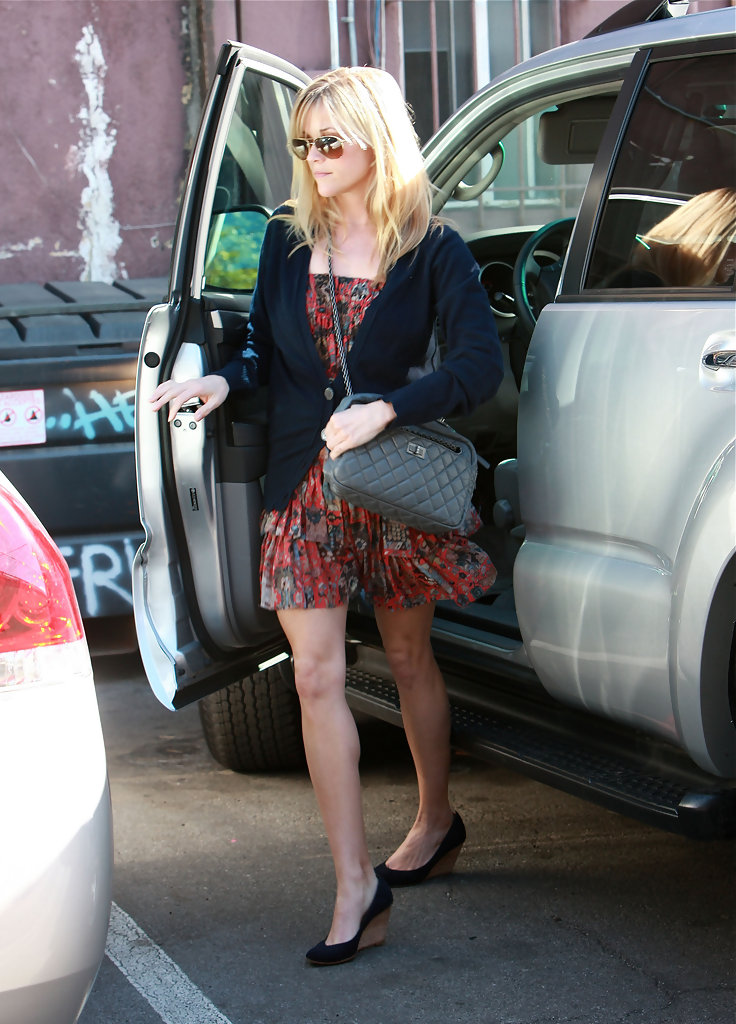 Reese Witherspoon Quilted Leather  Reese Witherspoon