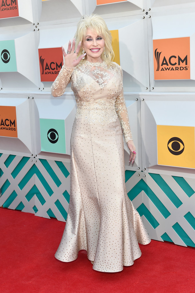 Dolly Parton All The Looks From The 2016 Academy Of