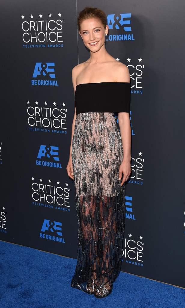 Caitlin Gerard  Best and Worst Dressed at the 2015 Critics Choice Television Awards  StyleBistro