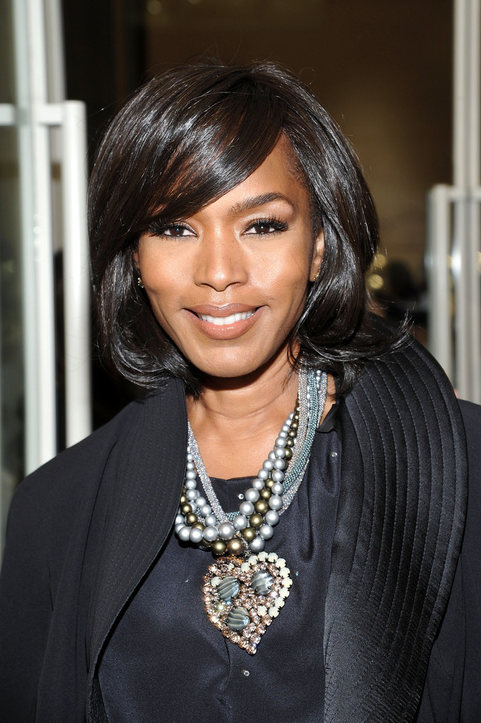 Angela Bassett MidLength Bob  MidLength Bob Lookbook  StyleBistro