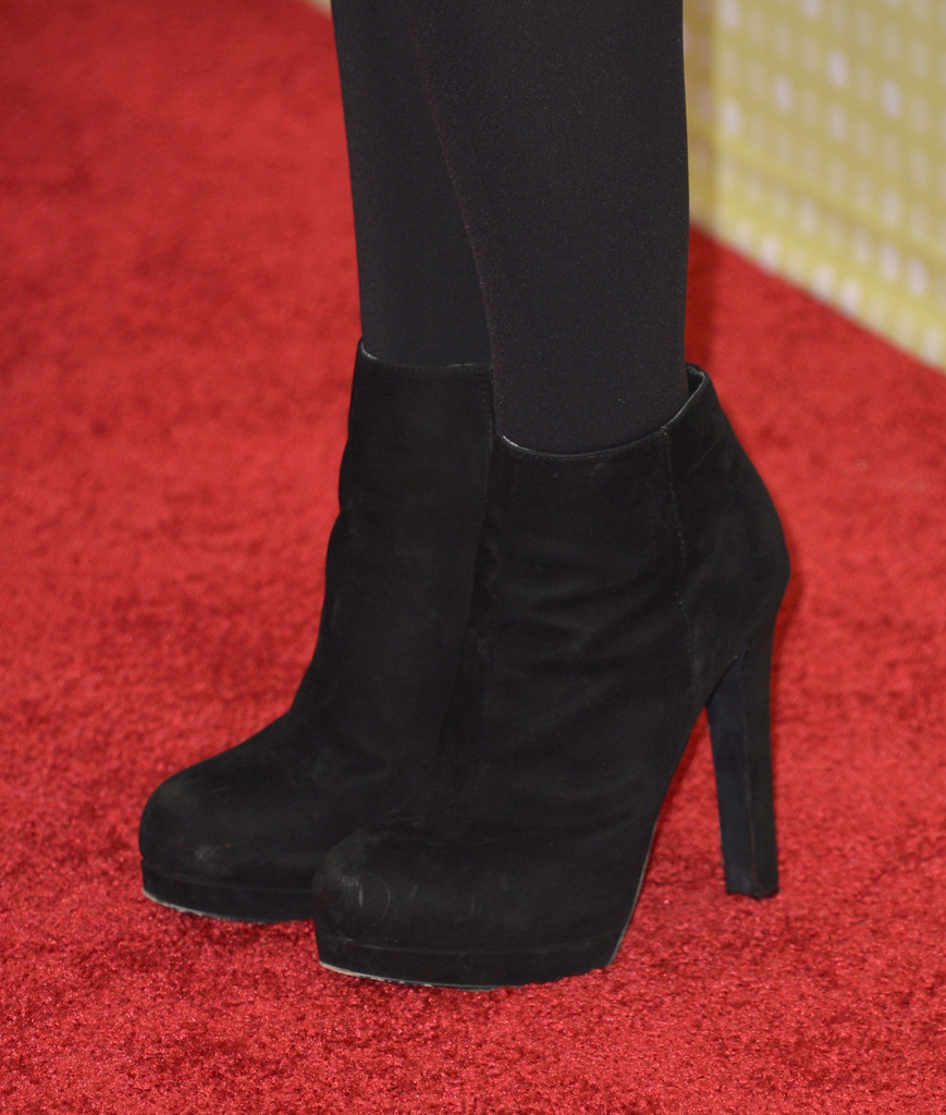 Bridgit Mendler Ankle Boots Shoes Lookbook StyleBistro