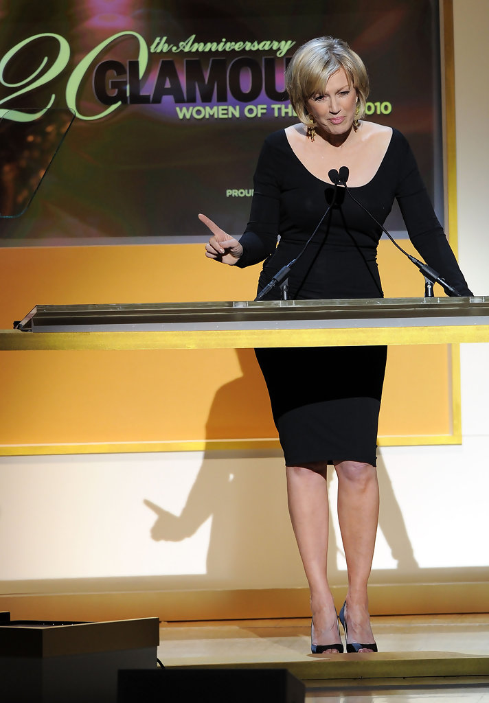 Diane Sawyer Little Black Dress  Diane Sawyer Looks  StyleBistro