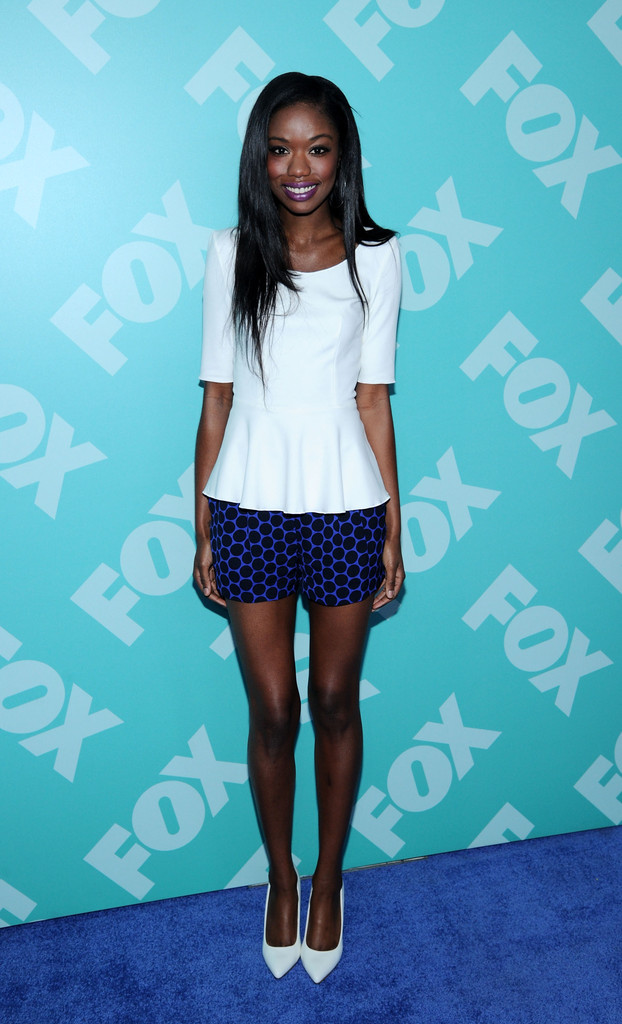 Nicole Beharie at the 2013 FOX Programming Presentation PostParty  Best Dressed at the 2013