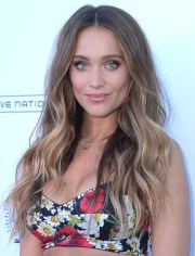 hannah jeter long wavy cut - hair