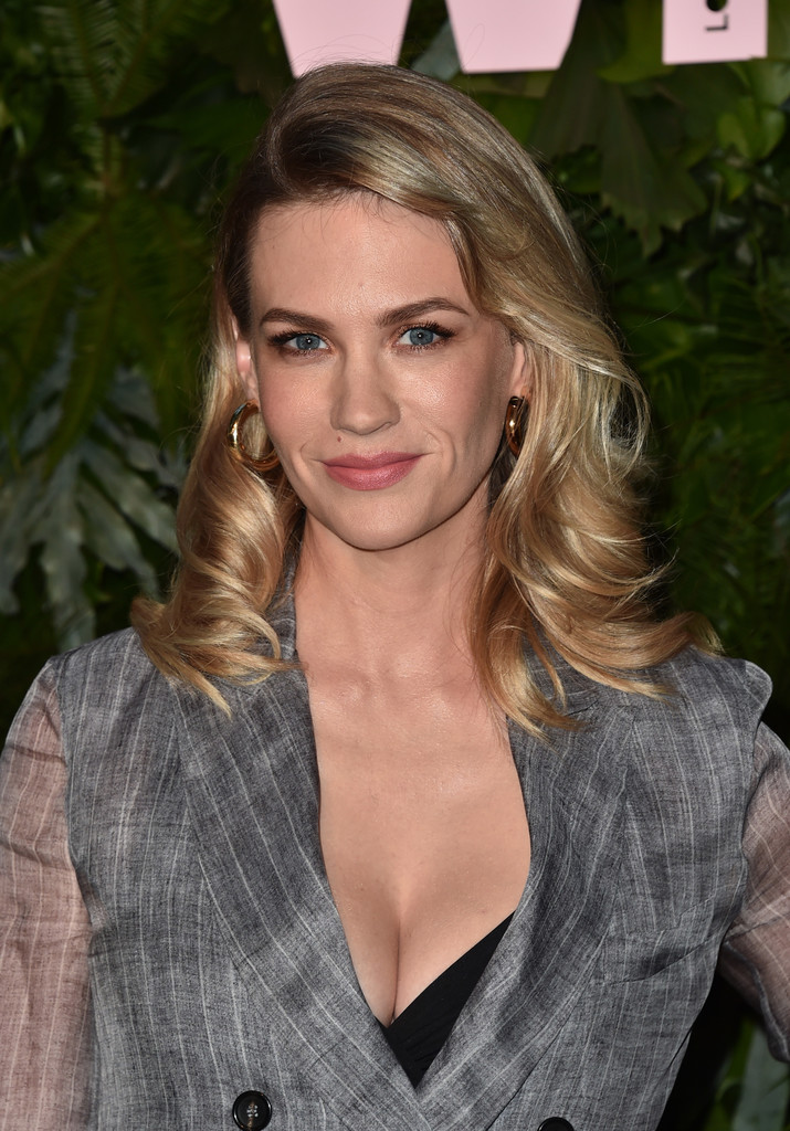 January Jones Hair Looks StyleBistro