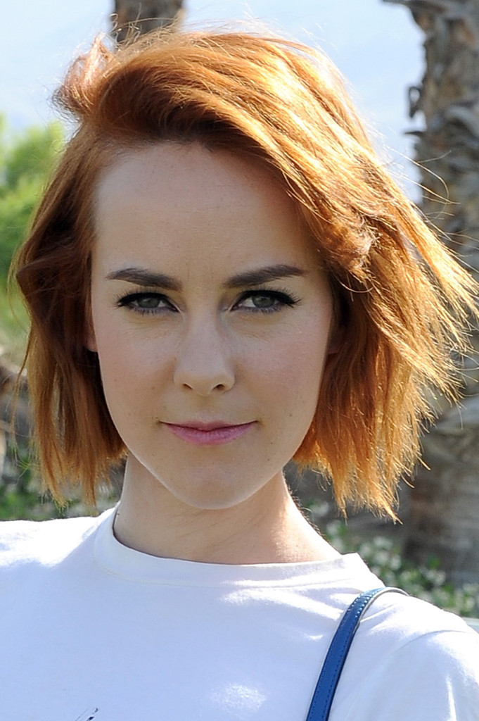 Jena Malone Short Cut With Bangs  Short Hairstyles Lookbook  StyleBistro