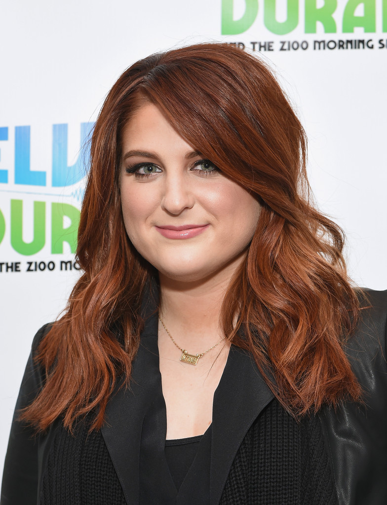 Meghan Trainor Long Wavy Cut Meghan Trainor Looks
