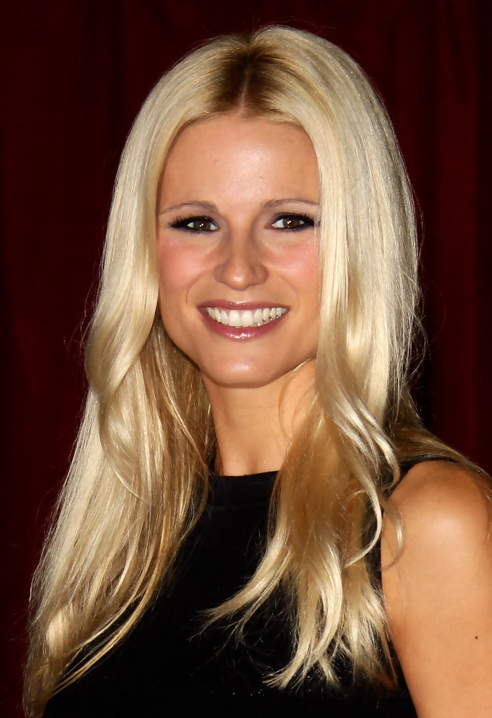 Michelle Hunziker Smoky Eyes  Michelle Hunziker Looks