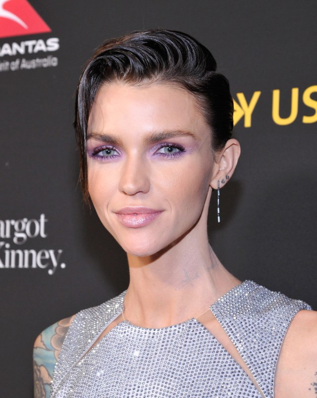 ruby rose short side part - ruby rose short hairstyles