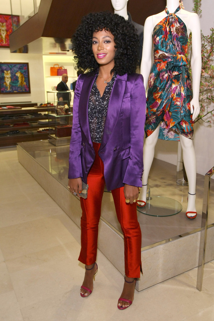 Solange Knowles Strappy Sandals Solange Knowles Looks