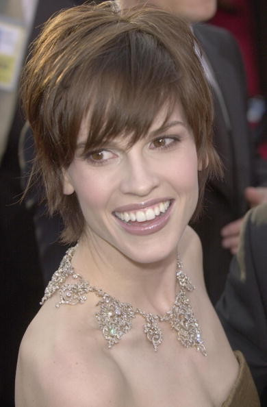 Hilary Swank 2000 Oscars Hair Looks Through The Years