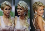 side-swept braid - long wedding