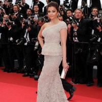 Cannes Film Festival 2011 – DAY 1 with Aishwarya Rai-Bachchan in Elie Saab