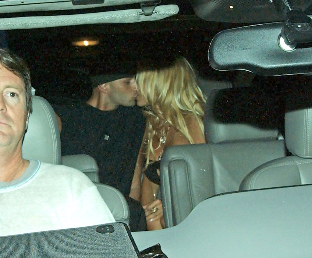 Pamela Anderson and Tommy Lee Photos Photos  Celebrity PDA  Stars Caught Kissing in Public