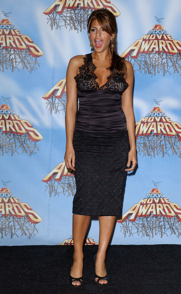 Eva Mendes Photos Photos 2005 MTV Movie Awards Press