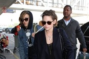 Kristen Stewart seen at LAX.