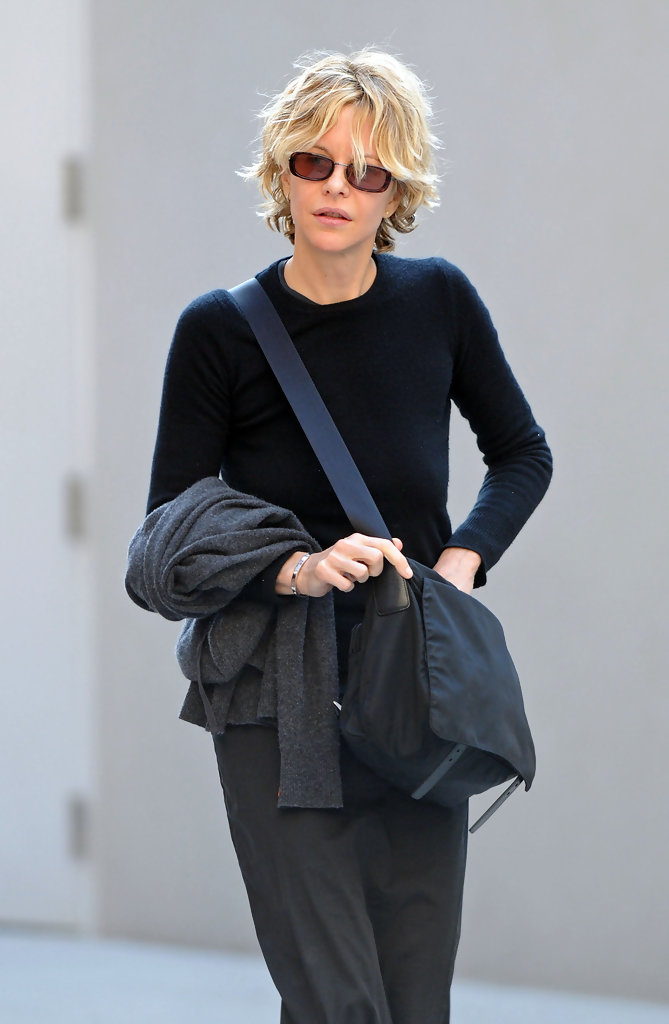 Meg Ryan in Meg Ryan in the West Village 3 of 3  Zimbio