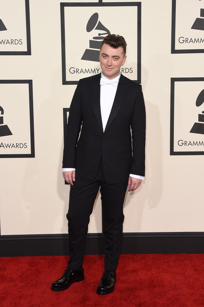 Singer Sam Smith attends The 57th Annual GRAMMY Awards at the STAPLES Center on February 8, 2015 in Los Angeles, California.