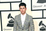 Musician Nick Jonas attends The 57th Annual GRAMMY Awards at the STAPLES Center on February 8, 2015 in Los Angeles, California.
