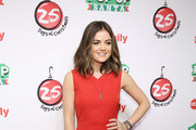 "Actress Lucy Hale attends ABC's ""25 Days Of Christmas"" Celebration at Cucina at Rockerfellar Center on December 7, 2014 in New York City."