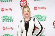 "Actress Melissa Joan Hart attends ABC's ""25 Days Of Christmas"" Celebration at Cucina at Rockerfellar Center on December 7, 2014 in New York City."