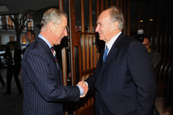 Aga Khan - The Prince Of Wales Visits Faith Communities In London