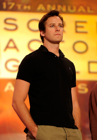 Armie Hammer - 17th Annual Screen Actors Guild Awards - Rehearsals
