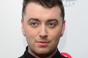 Singer Sam Smith interviews backstage at the Q102's Jingle Ball 2014 at Wells Fargo Center on December 10, 2014 in Philadelphia, Pennsylvania.
