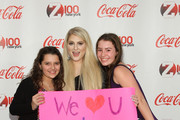 Meghan Trainor meets fans at Z100 & Coca-Cola All Access Lounge at Z100's Jingle Ball 2014 pre-show at Hammerstein Ballroom on December 12, 2014 in New York City.