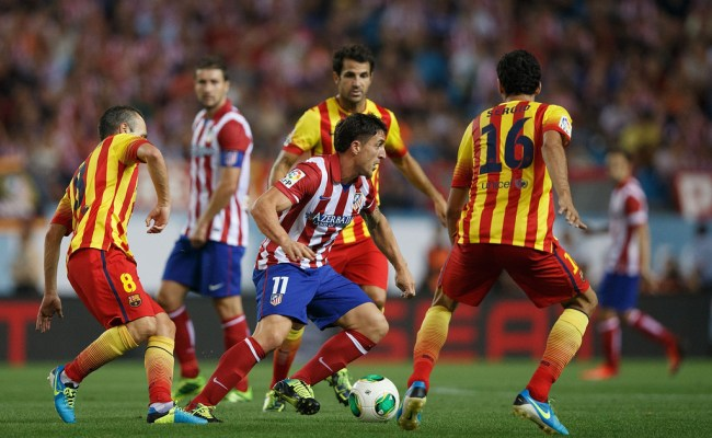 Sergio Busquets Photos Photos Club Atletico De Madrid V