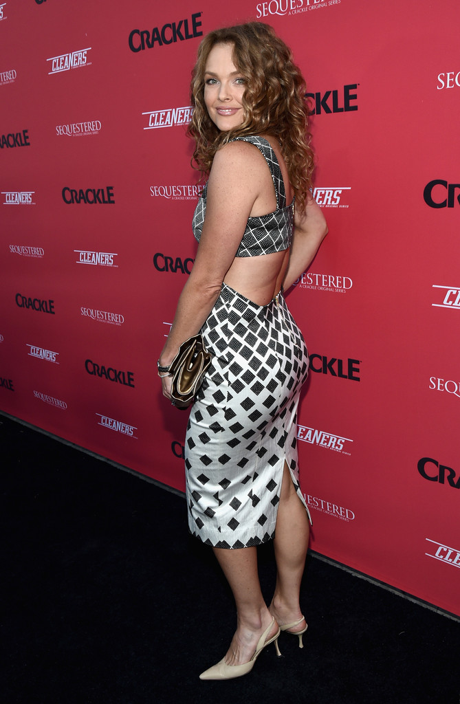 Dina Meyer Photos Photos  Crackle Summer Premieres Event