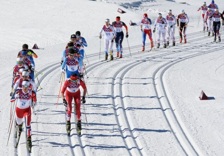 Image result for pics of olympic cross country skiing competition