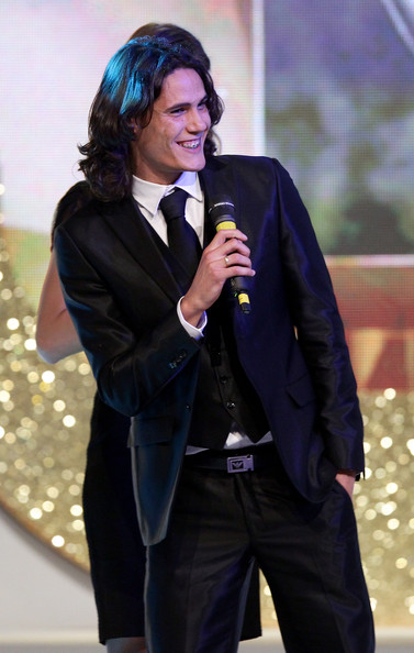 "Edinson Cavani - ""Oscar Del Calcio AIC 2010"" Italian Football Awards"