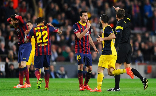 Fc Barcelona V Club Atletico De Madrid Zimbio