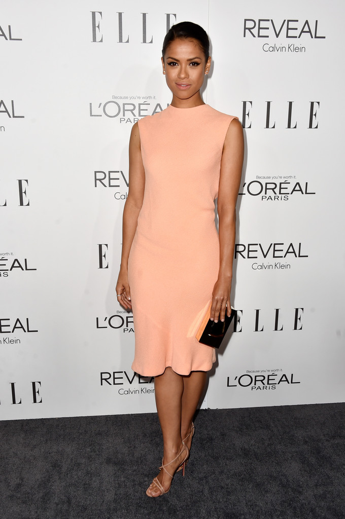 steal her style gugu mbatha raw in calvin klein at elle s