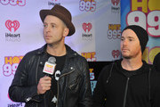 Ryan Tedder and Eddie Fisher of OneRepublic speak at HOT 99.5's Jingle Ball 2014, Presented by Mattress Warehouse at the Verizon Center on December 15, 2014 in Washington, D.C.