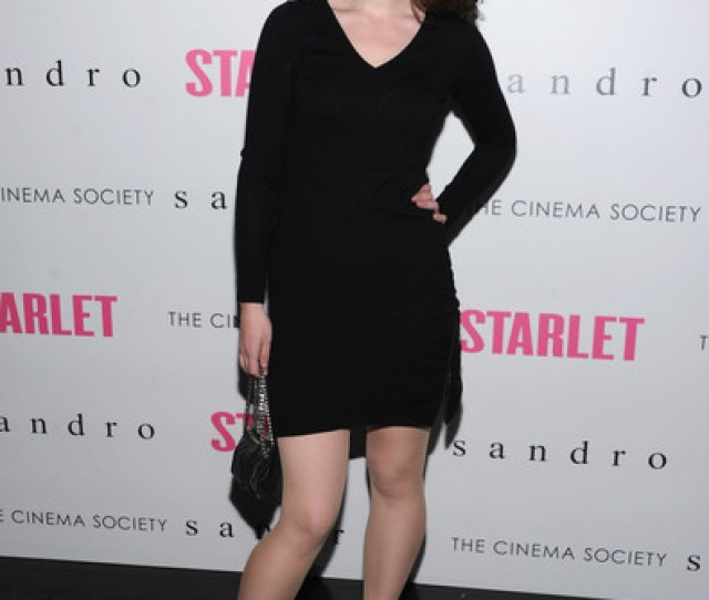 Cinema Society And Sandro Present A Special Screening Of Starlet Arrivals