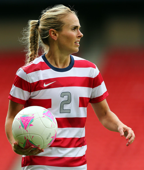 Heather Mitts for the US Women's National Team